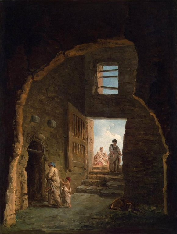Hubert_Robert_-_Inhabited_Ruins_-_WGA19584