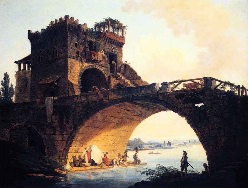 Hubert_Robert_-_The_Old_Bridge