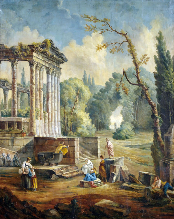 Hubert_Robert_(style_of)_Lanscape_with_temple_ruin