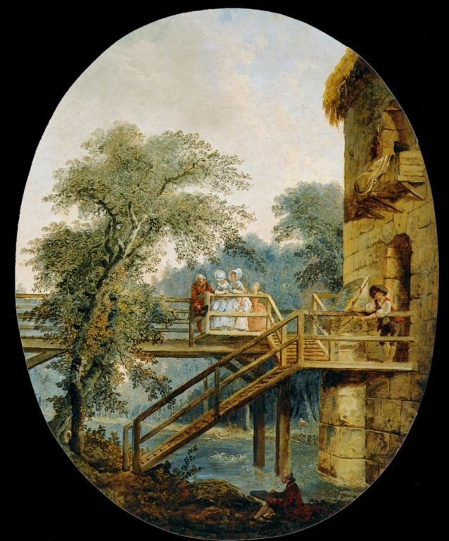 Robert,_Hubert_-_The_Footbridge_-_c._1775