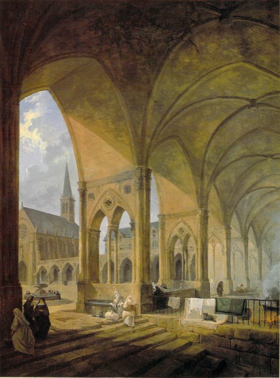 The_cloister_of_the_English_Augustinian_nuns_Paris