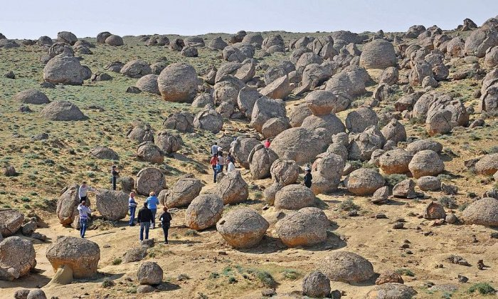 The Mysterious Valley Of Balls In Kazakhstan Earth