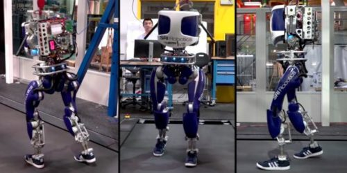 Как сделать для робота ногу