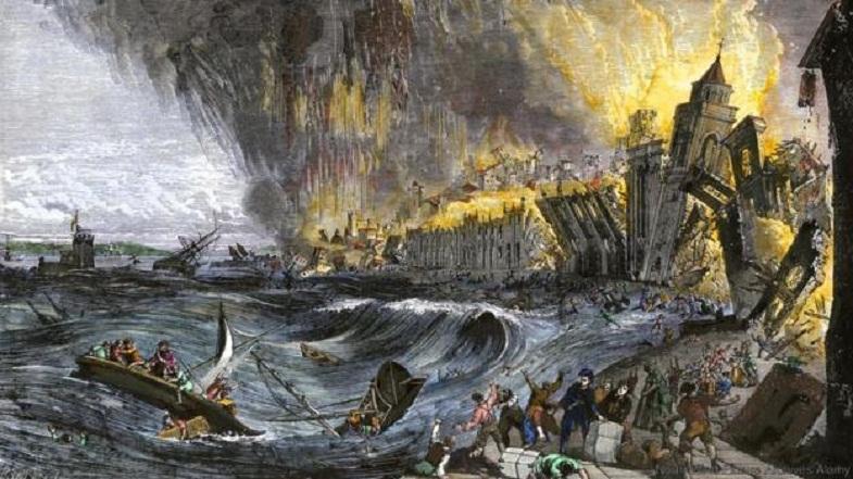 Lissabon-tsunami