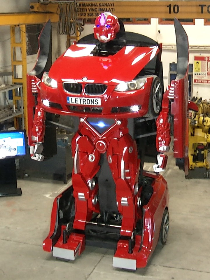 Transformer Robot From A Real Car Bmw Earth Chronicles News