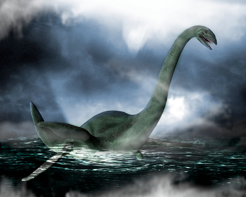 Loch Ness monster, artwork