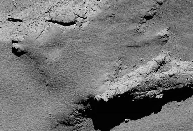 Один из последних снимков кометы