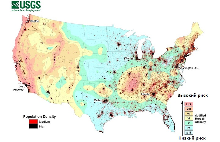 map-population-and-ground-shaking