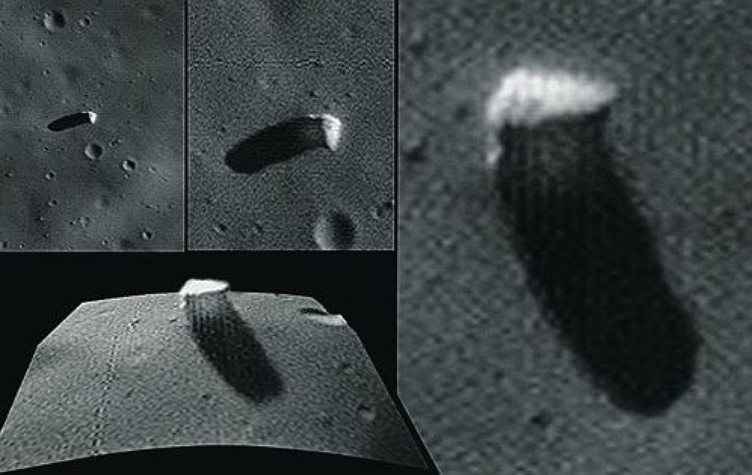 "The mysterious ""Monolith"" on the Martian satellite Phobos ..."