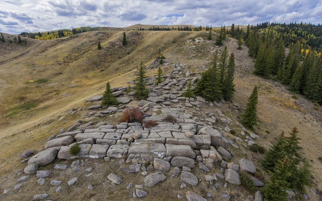 Mystery Rocks Cypress Hills Saskatchewan