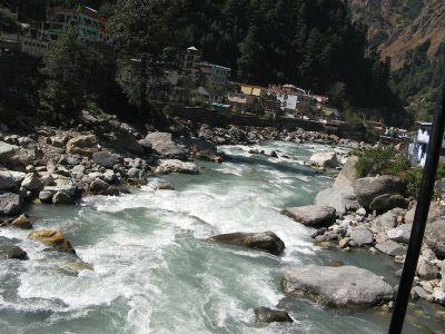 india-river