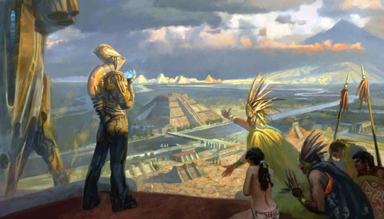 ancient aliens visiting earth If aliens visited earth in the past, could they make an appearance in the future for ancient alien theorists, the answer is a resounding yes they bemore if aliens visited earth in the past, could they make an appearance in the future for ancient alien theorists, the answer is a resounding yes.