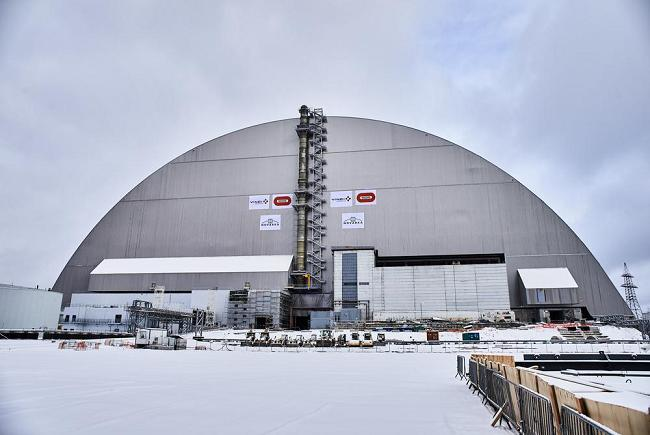 The new sarcophagus of the Chernobyl NPP has shown its