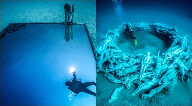 in spain the underwater museum was opened earth