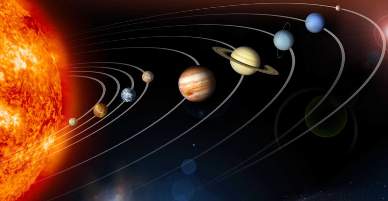 The solar system is a non-standard location of the planets ...