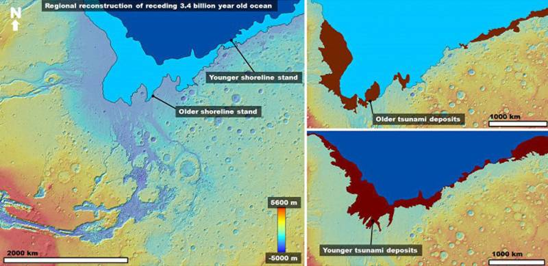 On Mars found traces of the ancient mega-tsunami | Earth Chronicles News