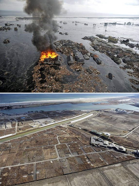 today is the anniversary of the earthquake and tsunami in