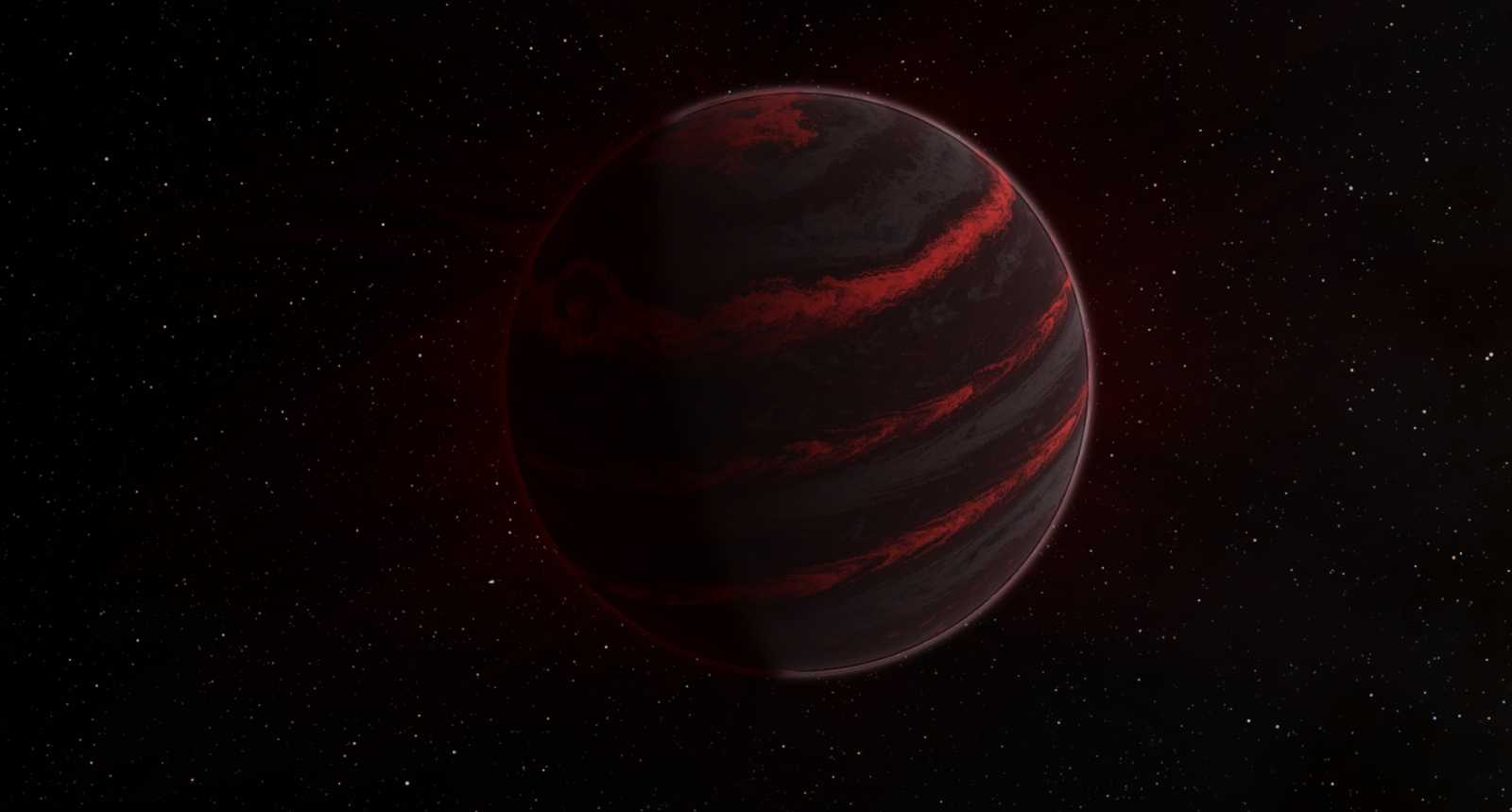 brown dwarf in outer space-#8