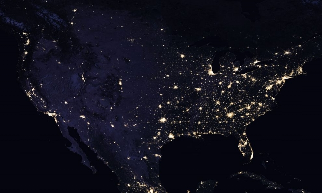 NASA Published A Map Of Earths Light Pollution Earth Chronicles - World satellite map lights