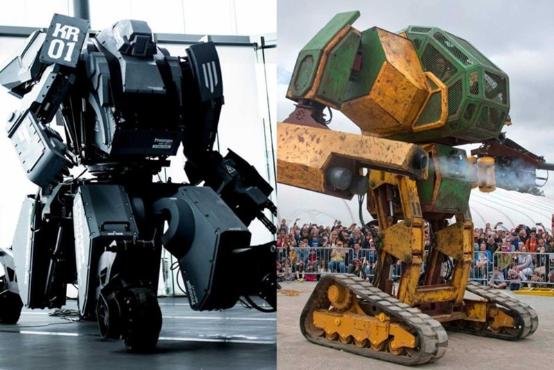 In August this year, the battle of giant robots | Earth