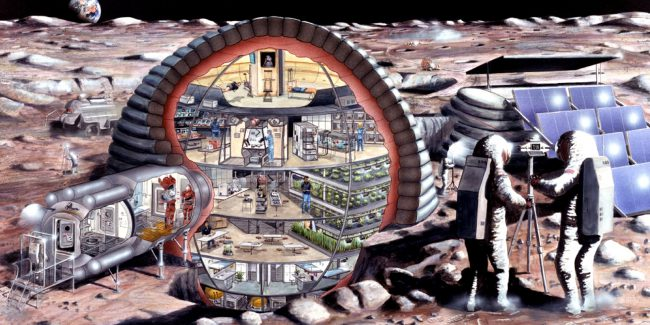 NASA began the contest of printing houses for other planets