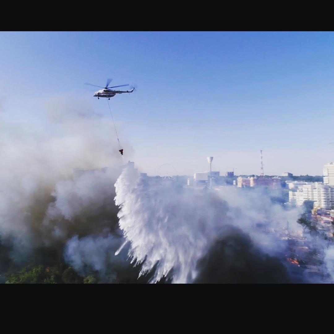 Rescuers in Rostov 55