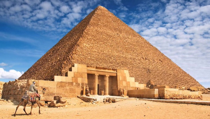 a new attempt to explain the ideal construction of the egyptian